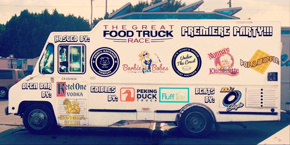The Great Food Truck Race Premier