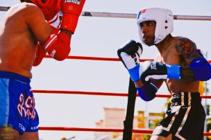 Songkran boxing