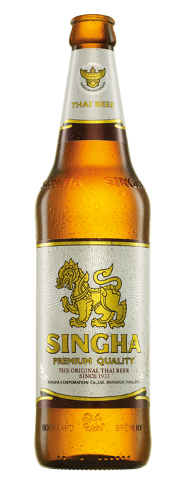 Singha Beer Bottle