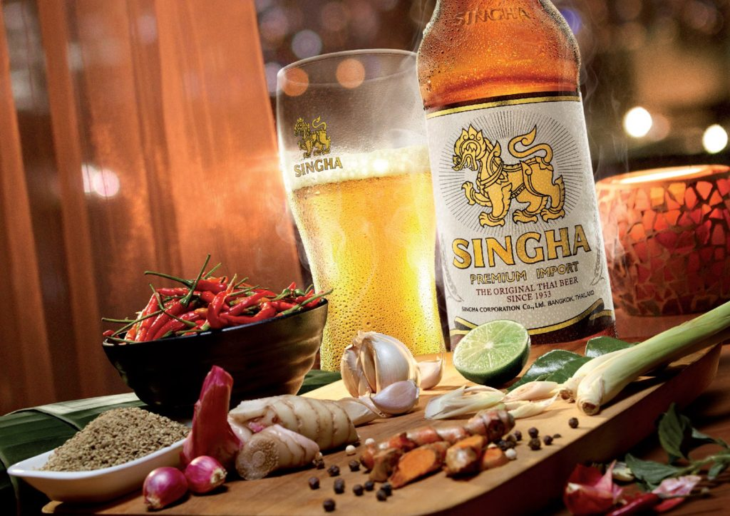 Food Secret Recipe and Singha Beer